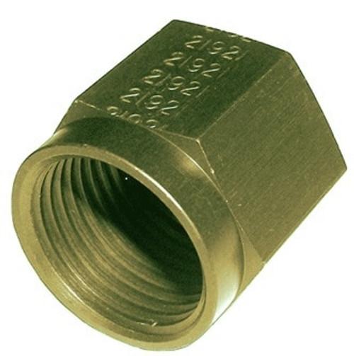 Military Standard MS21921V8P Crescent Steel Nut, Tube Coupling