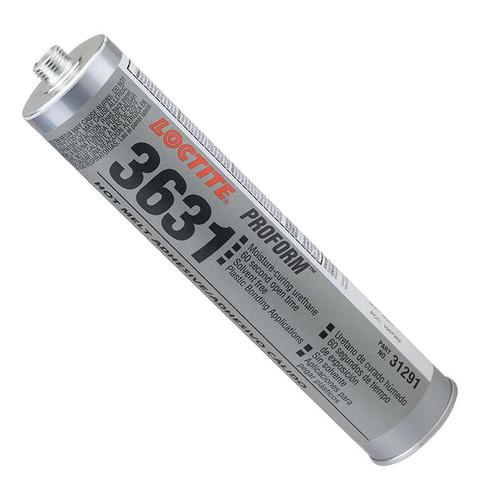 Henkel 31291 TECHNOMELT® PUR 3631™ Off-White Industrial-Grade Polyurethane Hotmelt Adhesive - 300 mL (10.15 oz) Cartridge