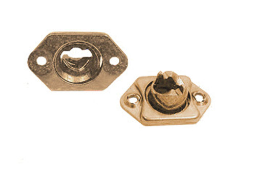Camloc® 244-16 Bronze Plain Open Cage Floating Receptacle