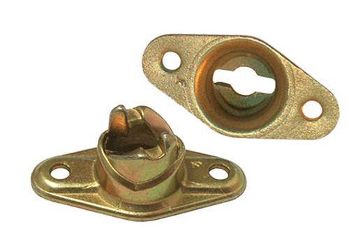 Camloc® 214-16 Bronze Plain Receptacle, Turnlock Fastener