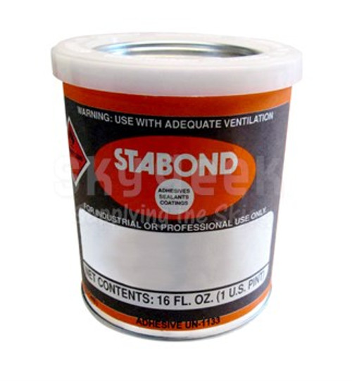 Stabond C 111 Brown HMS16-1149 Type 5 Spec High-Strength Adhesive - Pint Can