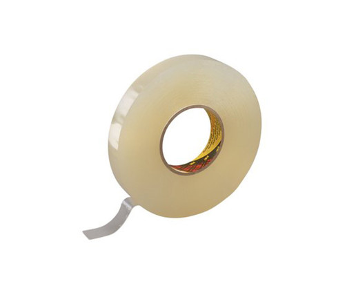 """3M™ 021200-38545 Scotch® 4658F Clear 31.25 Mil Double Coated Removable Foam Tape - 1"""" x 27 Yard Roll"""