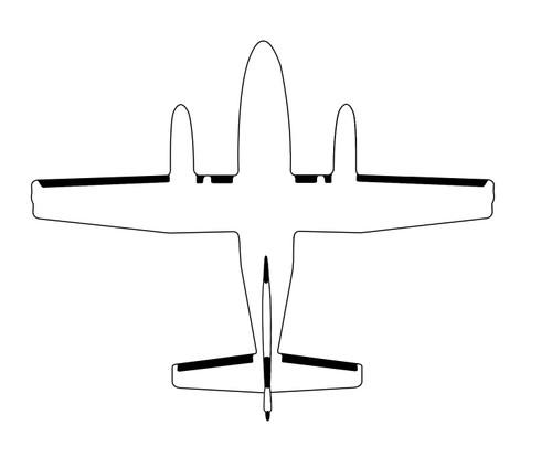 Goodrich 3D2802 Cessna 441 Stall Strip De-Ice Boot