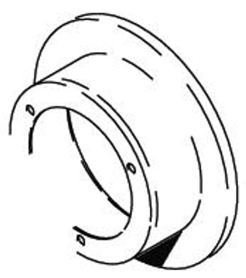 Cleveland Wheel & Brake 164-11700 Chrome Brake Disc