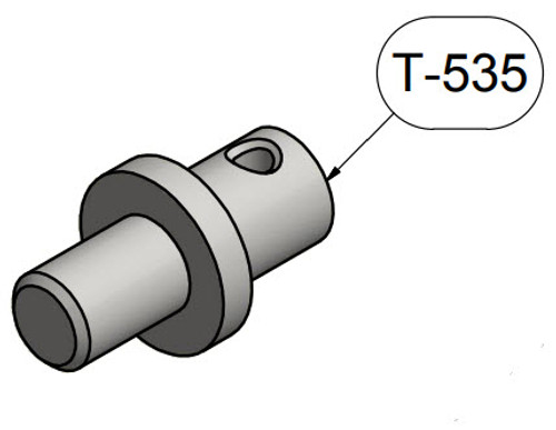 Brackett T-535 Gray Epic Aircraft Epic LT (check fit before ordering) Universal Towbar Adapter (2 Required)