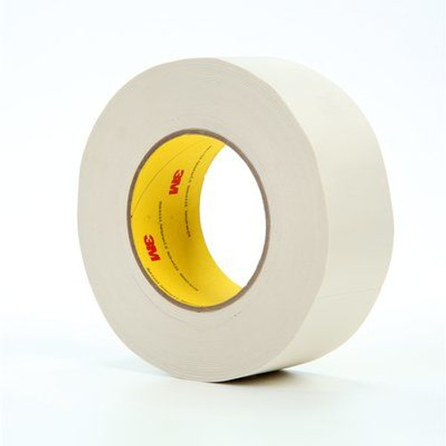 """3M™ 021200-04277 Scotch® 365 White 8.3 Mil Thermosetable Glass Cloth Tape - 2"""" x 60 Yard Roll"""