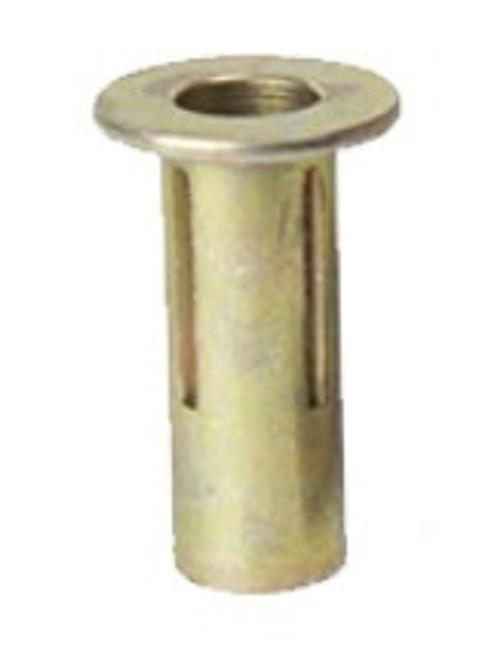 RAMnut A10-75 Aluminum 10-32 UNF-3B (.010 -.080 Grip) Nut, Plain, Blind Rivnut