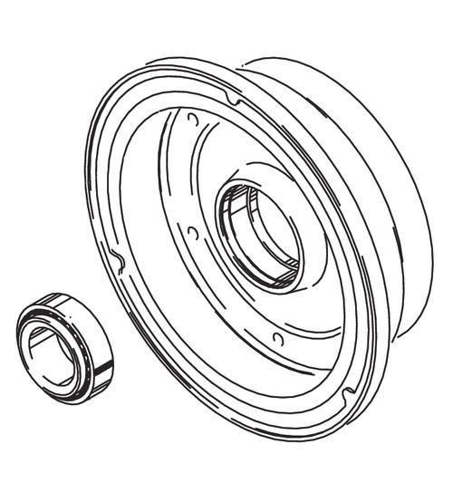 Cleveland Wheel & Brake 162-04800 Outer Wheel Half Assembly