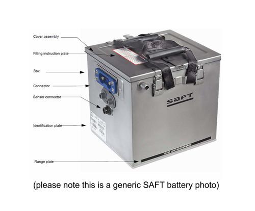 SAFT 011360-000 Model GB170 Nicad Battery Assembly