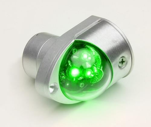 WHELEN® 01-0771379-11 Model 7137911 Green 14-Volt LED Forward Position Light