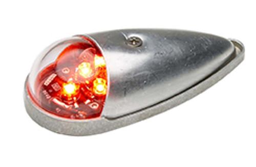 WHELEN® 01-0771105-02 Model 7110502 Red 14-Volt LED Position Light Assembly