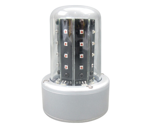 WHELEN® 01-0771080-51 Model 7108051 Red 14-Volt A470A Mount & MateNLok LED Anti-Collision Beacon
