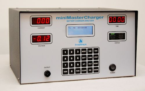 JFM 9891601102 miniMasterCharger Microprocessor Controlled Battery Charger-Analyzer