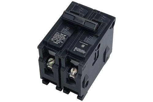 JFM 43320240L0 Black 250-Volt/40 AMP Dual Circuit Breaker