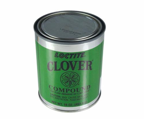 Henkel 39566 LOCTITE® CLOVER® Gray Grade 5A / 800 Grit Grit Silicon Carbide Pat Gel Water Mix Paste - 453.6 Gram (16 oz) Can