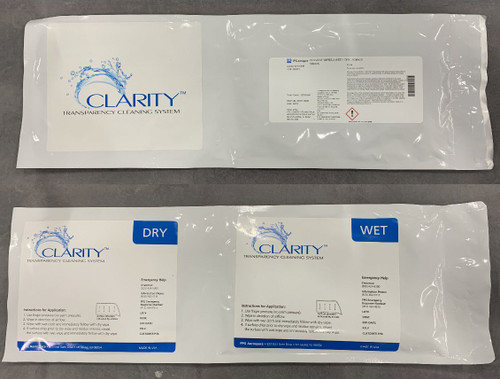 PPG Aerospace® Transparencies 599306 Clarity™ Transparency Cleaning System - 100 Wipes/Box