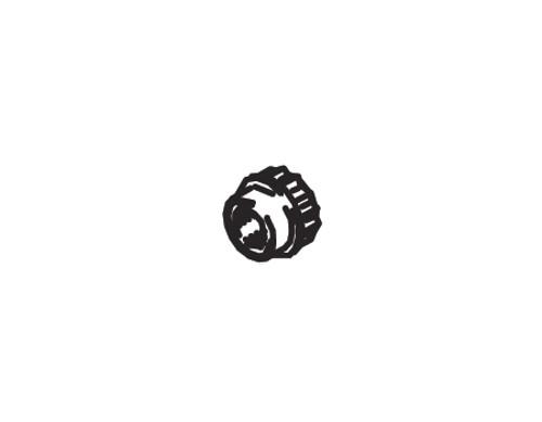 Cleveland Wheel & Brake 094-00600 Spline-Nut