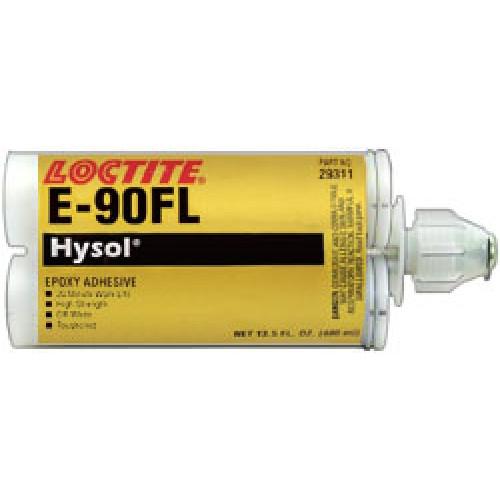 Henkel 29311 LOCTITE® E-90FL™ HYSOL® Gray Epoxy Structural Adhesive - 400 mL (13.5 oz) Standard Cartridge