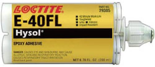 Henkel 29305 LOCTITE® EA E-40FL™ HYSOL® Gray Structural Epoxy Adhesive - 200 mL (6.76 oz) Standard Cartridge
