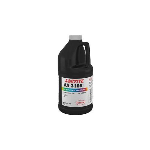 Henkel 28400 LOCTITE® AA 3108™ translucent Light-Cure Acrylic Adhesive - Liter (33.8 oz) Bottle