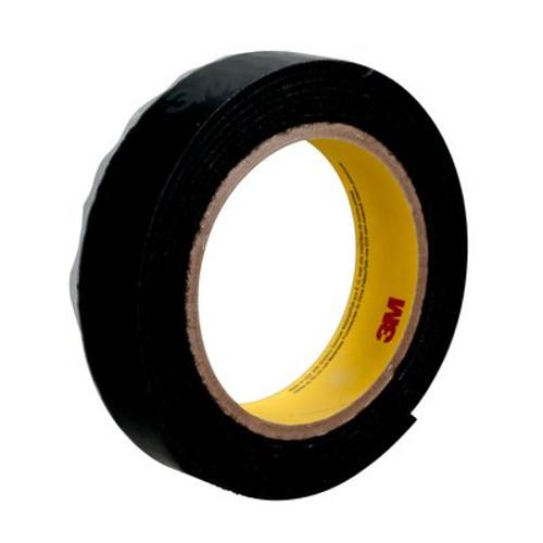 """3M™ 021200-62553 Scotchmate™ SJ3401 Black Hook Fastener - 1"""" x 0.12"""" x 50 Yard Roll"""