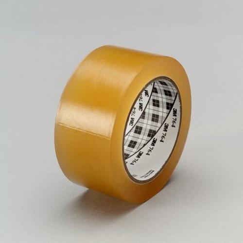"3M™ 021200-43440 Scotch® 764 Transparent 5 Mil General-Purpose Vinyl Tape - 1"" x 36 Yard Roll"