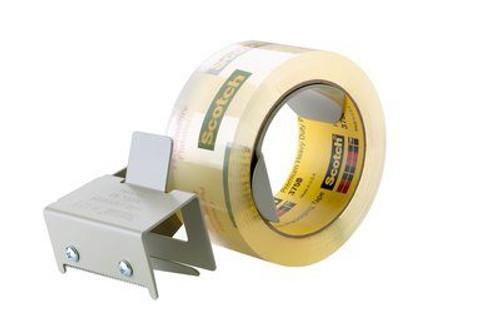 3M™ 021200-96818 Scotch® Gray H128 Box Sealing Tape Dispenser