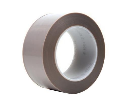 """3M™ 021200-16132 Gray 5481 PTFE 6.8 Mil Film Tape - 2"""" x 36 Yard Roll"""