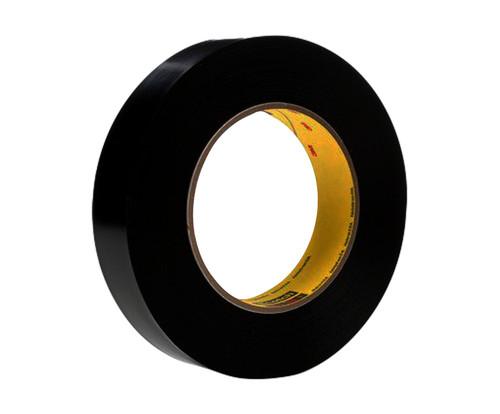 """3M™ 021200-03151 Scotch® 472 Black 10.4 Mil Vinyl Tape - 1"""" x 36 Yard Roll"""