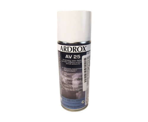 Chemetall ARDROX® AV 25 MIL-PRF-16173E, Type II Spec Corrosion Inhibiting Compound - 400 mL (13.5 oz) Aerosol Can