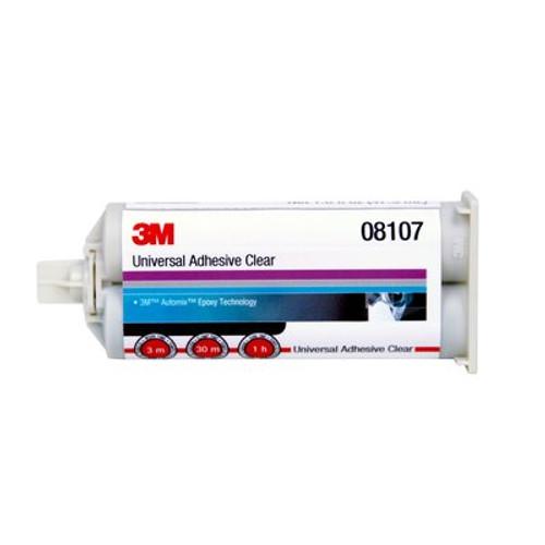 3M™ 051135-08107 Clear Universal Adhesive - 47.3 mL Cartridge