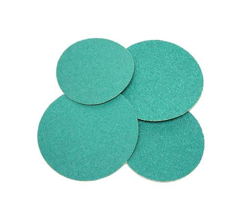"3M™ 051131-01548 Stikit™ 251U Green 6"" 36 Grit Aluminium Oxide Disc - 100 Discs per Carton"