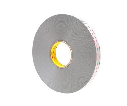 """3M™ 021200-64630 VHB™ 4941 Gray 45 Mil Acrylic Foam Tape - 1"""" x 36 Yard Roll"""
