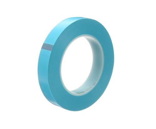 """3M™ 021200-60832 Scotch® 215 Blue 4.8 Mil Fine Line Tape - 1/2"""" x 60 Yard Roll"""