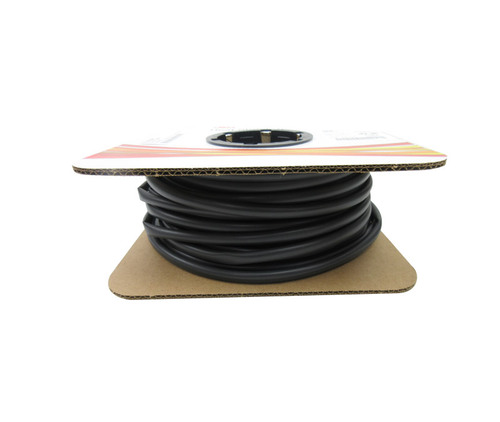 "3M™ 051135-35574 Black FP-301-1/4-Black-100' Heat Shrink Thin-Wall Tubing - 1/4"" x 100' Spool"