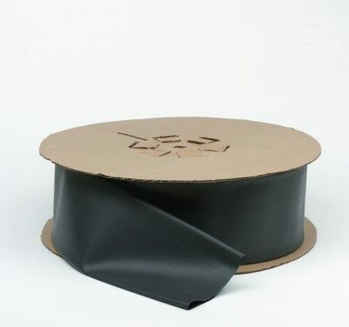 "3M™ 051135-35592 Black FP-301-3/4-Black-50' Heat Shrink Thin-Wall Tubing - 3/4"" x 50' Spool"