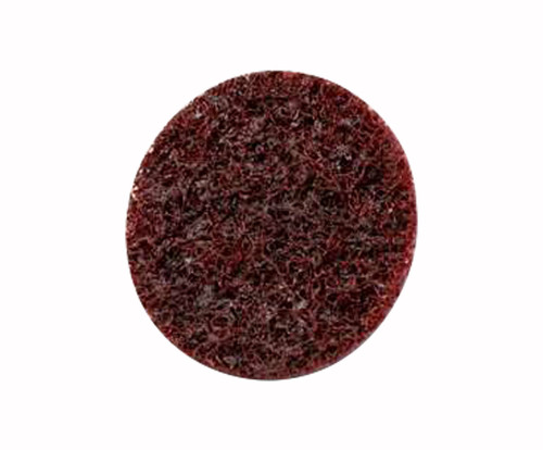 "3M™ 048011-25774 Scotch-Brite™ Roloc™ Sc-Dm Red 1 1/2"" Medium Surface Conditioning Disc - 50 Discs/Pack"