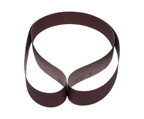 """3M™ 051144-26436 341D Brown 1.5"""" X 60"""" P80 Grit Belt Cloth"""