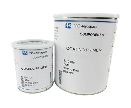 PPG Aerospace® Deft® 01-W-079 FS#17925 White GMS 5006 Type I/207-9-475 Specs High-Solids Epoxy Topcoat - Quart Kit