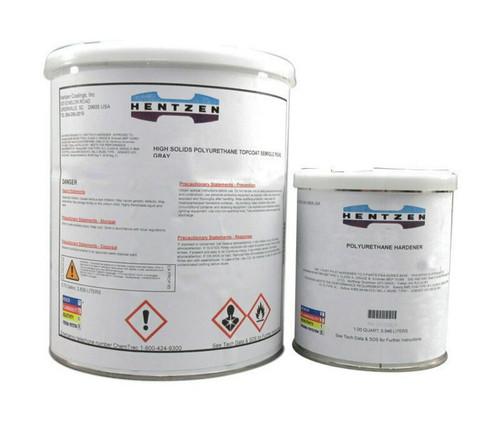 Hentzen 17101KWA/17102CMU AQUA URA-ZEN™ FS#37038 Black MIL-DTL-64159B Type II Spec (CARC) Water Dispersible Aliphatic Polyurethane Primer - 3-Gallon Kit