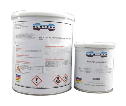 Hentzen 35508KPX/35502CMU FS#37038 Flat Black MIL-PRF-85285E Type IV Spec 3.5 VOC High-Solids Polyurethane Topcoat - Gallon Kit