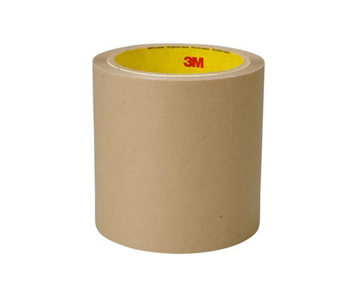 """3M™ 021200-67796 Clear 9500PC Double 5.6 Mil Coated Tape - 1"""" x 36 Yard Roll"""