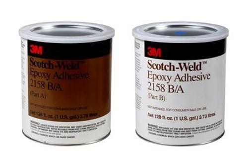3M™ 021200-20262 Scotch-Weld™ Gray 2158 Epoxy Adhesive - Gallon A+B Kit