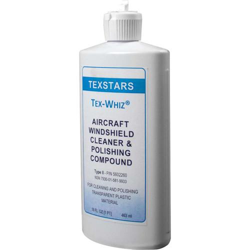 PPG Aerospace® Tex-Whiz® P-P-560C Aircraft Windshield Cleaner & Polishing Compound - 16 oz (Pint) Bottle