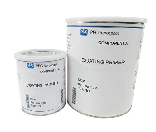 PPG Aerospace® Deft® 44-GN-054 Gray MIL-PRF-85582 Type I, Class C2 Spec Water Reducible Fluid Resistant Epoxy Primer - 2 Gallon Kit