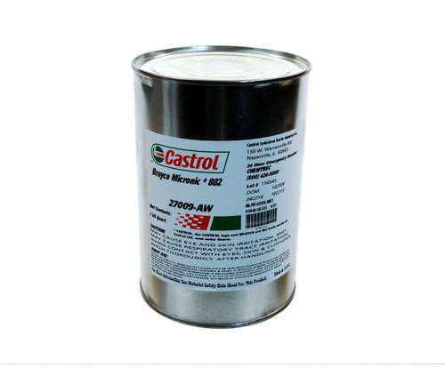Castrol® Brayco™ Micronic 882 Red MIL-PRF-83282D (1) Spec Full Synthetic ISO 15 Hydraulic Fluid - Quart Can