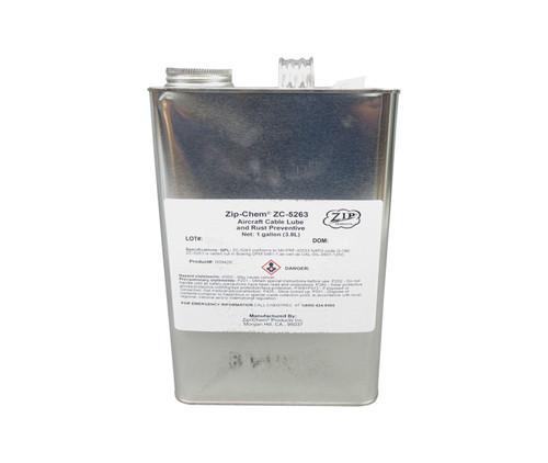 Zip-Chem® 009426 Aero-Lube™ D-5263 NS Aircraft Cable Lube & Rust Preventive - Gallon Can