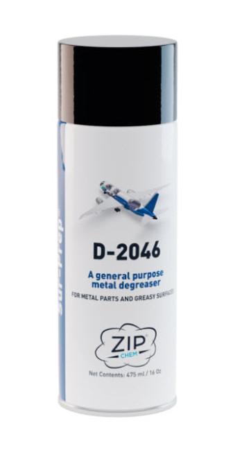 Zip-Chem® 005256 Sur-Prep® D-2046 General-Purpose Metal Degreaser - 475 mL (16 oz) Aerosol Can