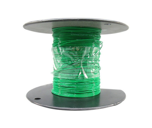 Military Specification M22759/11-26-5 Green 26 AWG PTFE Tapes/Coated Fiberglass Braid Wire