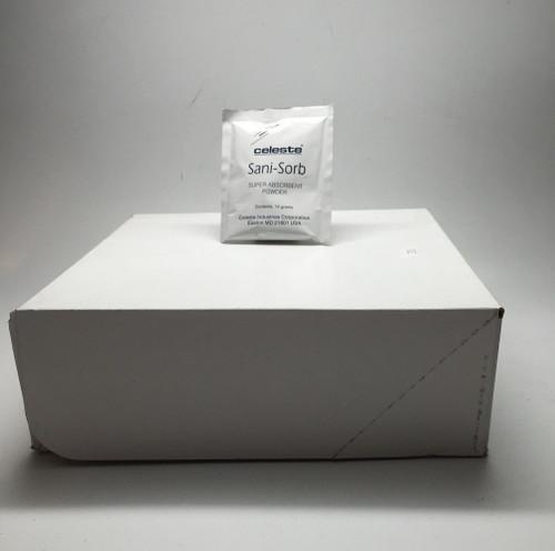 Celeste® TR-SORB/10 SANI-SORB Super Absorbent Powder - 50 Packet/Box